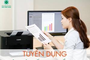 Thông báo tuyển dụng nhân viên kế hoạch tổng hợp